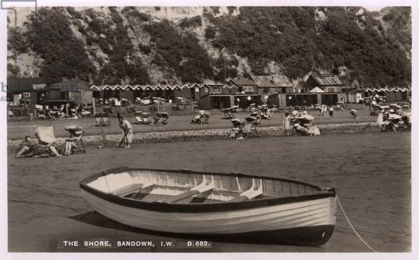 The Shore at Sandown, Isle of Wight