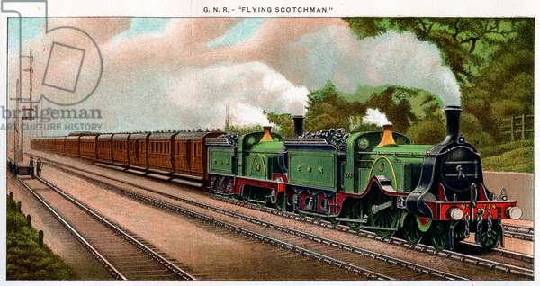Train Engines - Gnr Flying Scotsman