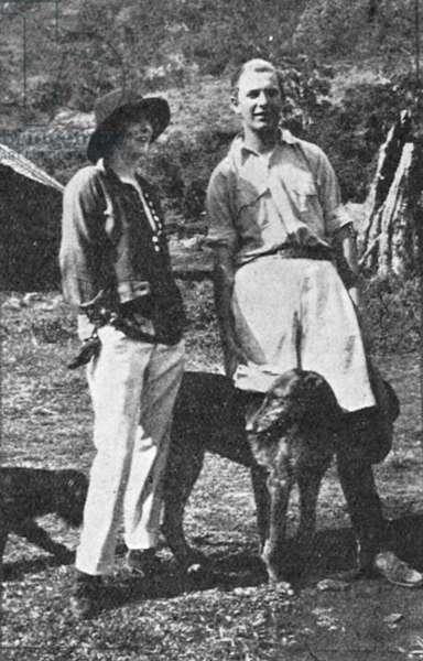 The Hon. Josslyn and Lady Idina Hay