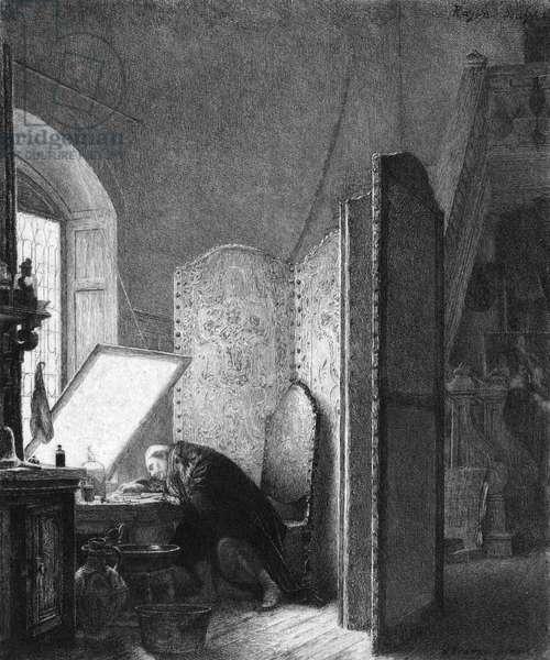 REMBRANDT IN STUDIO