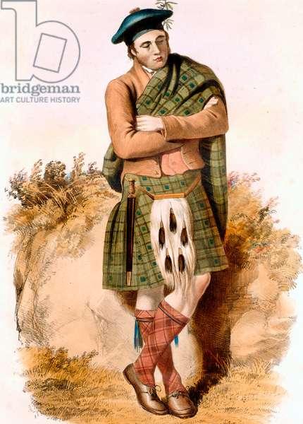 Graham scottish clan highland costume and kilt