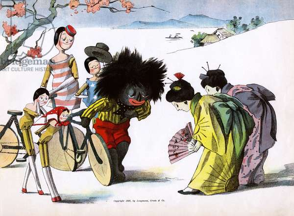 The Golliwogg's Bicycle Club - Arriving in Japan