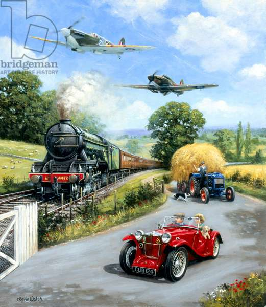 Flying Scotsman, Spitfire, Hurricane