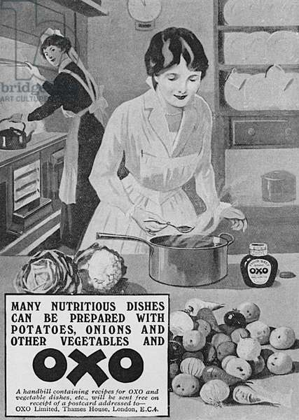 Oxo advertisement, WW1