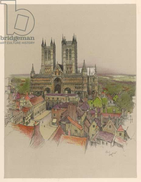 LINCOLN CATHEDRAL 1924