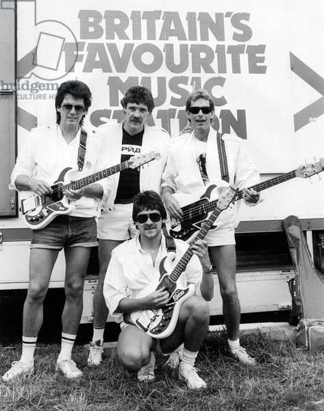 Mike Read with Radio 1 Roadshow group