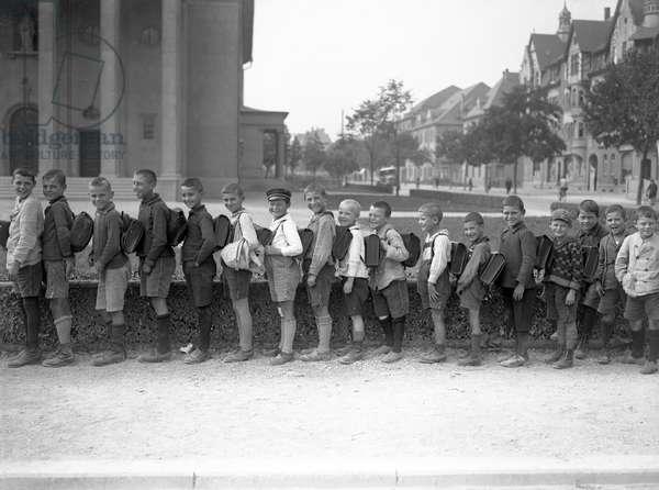 GERMAN SCHOOLBOYS