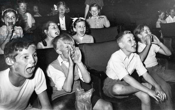1950s Cinema - Children's Saturday Matinee