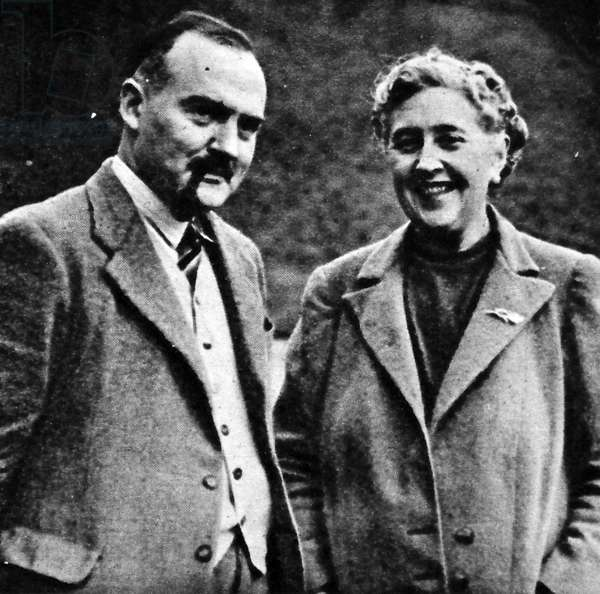 Agatha Christie and Max Mallowan