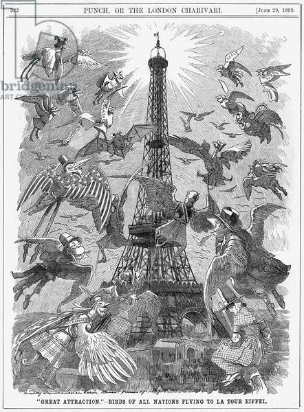 PARIS/EIFFEL TOWER 1889