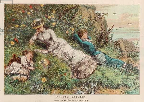 LADIES RELAXING 1882