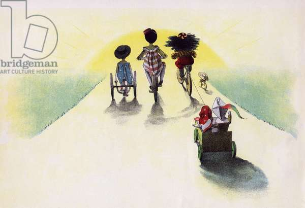 The Golliwogg's Bicycle Club - Starting out at Sunrise