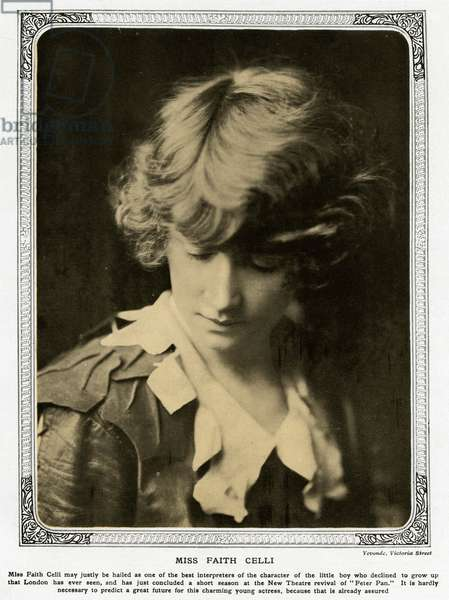 Miss Faith Celli by Madame Yevonde