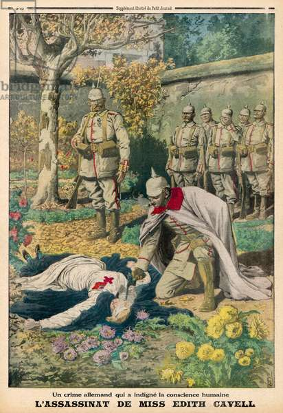 CAVELL EXECUTED/1915