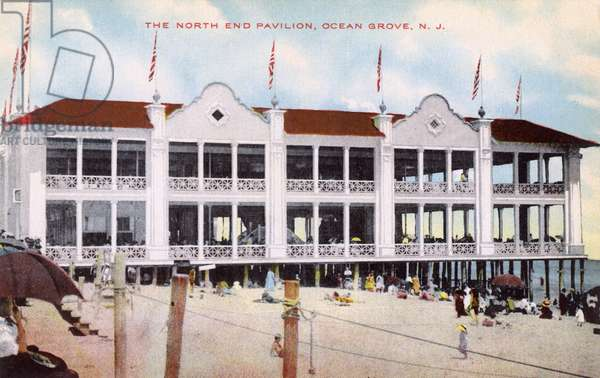 North End Pavilion, Ocean Grove, New Jersey, USA