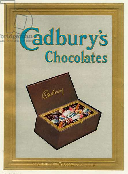 An advertisement for Cadburys Chocolate.