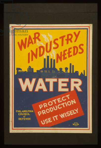 War industry needs water Protect production : Use it wisely