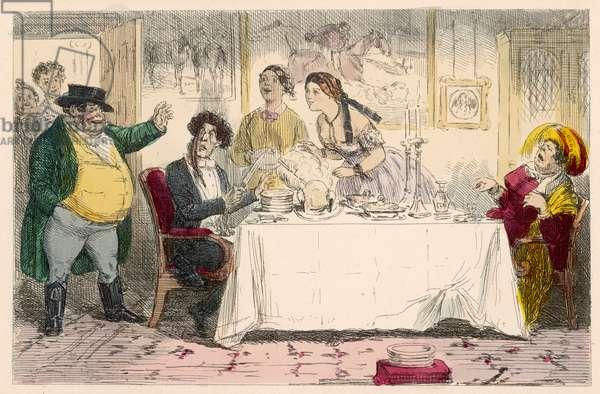 DINNER INTERRUPTED