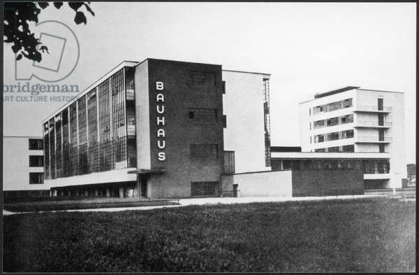GERMANY/DESSAU/BAUHAUS