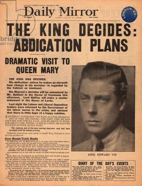 Abdication of King Edward VIII