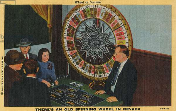 Wheel of Fortune, Nevada, USA