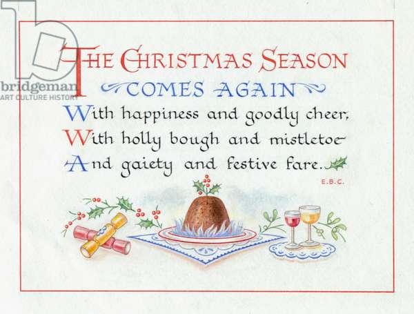 The Christmas Season comes again