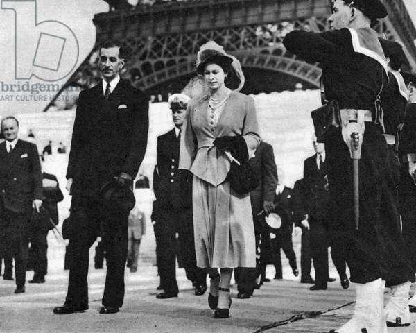 Princess Elizabeth in Paris