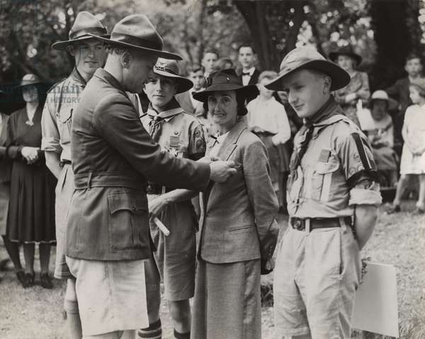 Scouts during Wartime