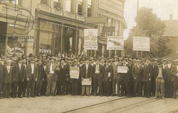 Copper Miners Strike - Calumet, Michigan, USA