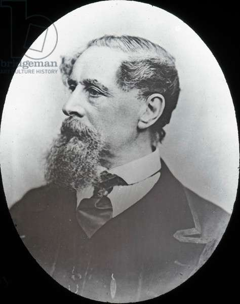 Life of Charles Dickens - Portrait of Charles Dickens