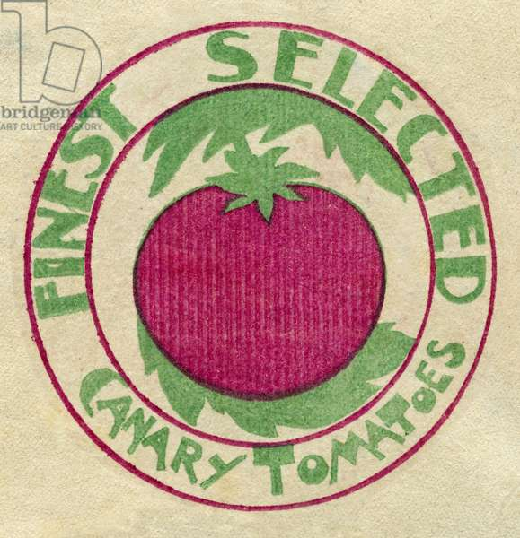 Fruit Label -- Canary Tomatoes