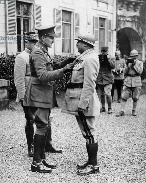 Arthur, Prince of Connaught and French General, WW1