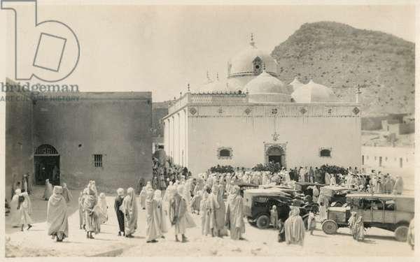 Tomb or Mosque at Medina, Saudi Arabia