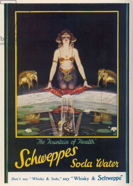 ADVERT/SCHWEPPES SODA