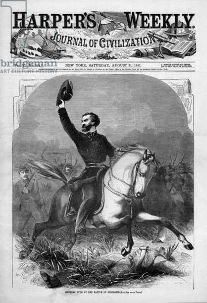 American Civil War, General Lyon, Battle of Springfield