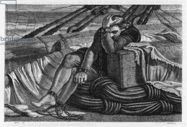 COLUMBUS IN CHAINS