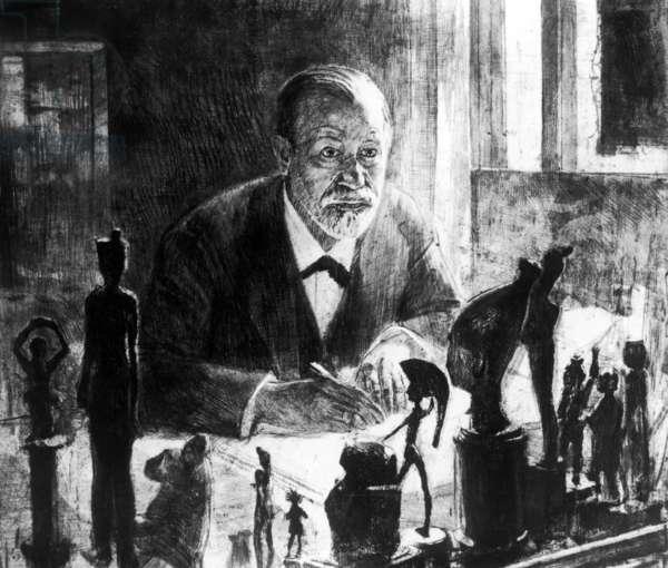 Sigmund Freud, 1914