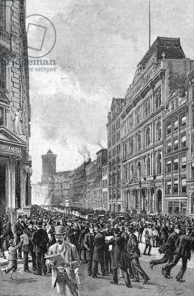 Wall Street panic 1890