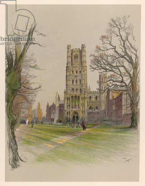 ELY CATHEDRAL 1924