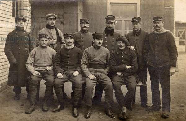 French prisoners of war, Wittenberg, Germany, WW1