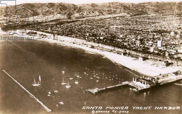 Santa Monica Yacht Harbour, California, USA