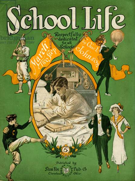 USA SCHOOL LIFE 1912