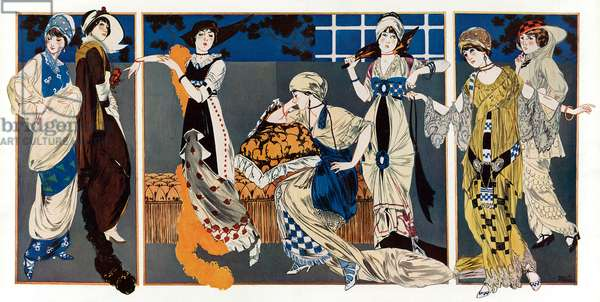 Fashion inspired by Leon Bakst
