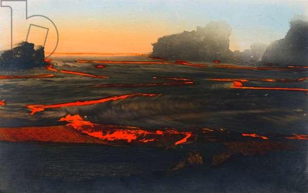 Molten lava - Hawaii