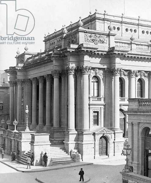 Valetta, Malta - The Opera House
