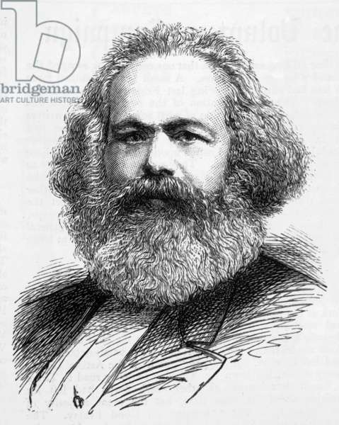 KARL MARX/GRAPHIC 1883