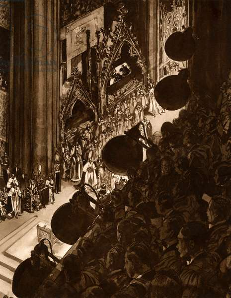 George VI Coronation filmed
