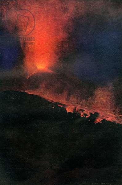 VESUVIUS NIGHT 1905