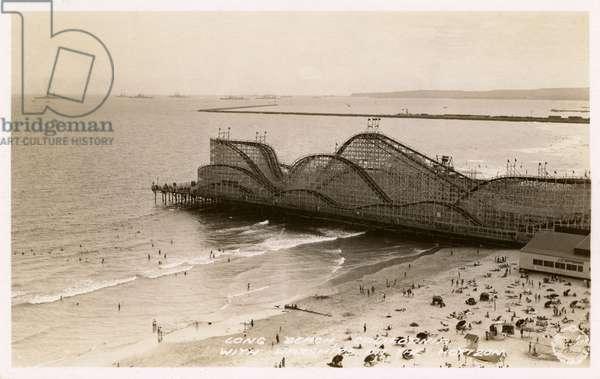 Long Beach, California, USA - The Pike Amusement Park