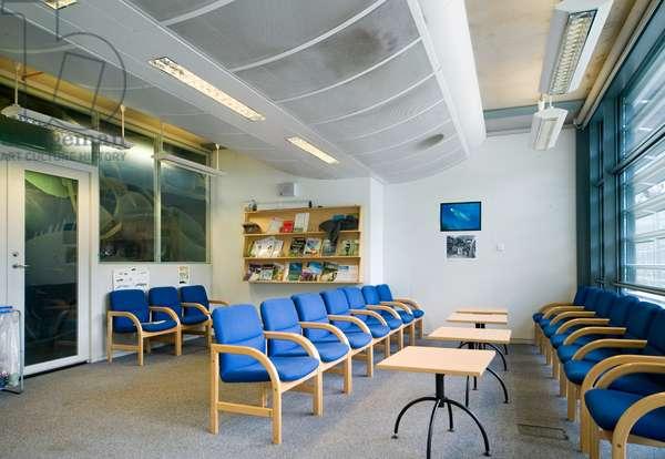 The Darwin Centre common room